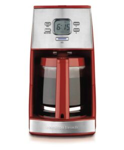 Hamilton-Beach-43253-Ensemble-12-Cup-Coffeemaker-with-Glass-Carafe-Red-0