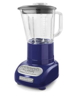 KitchenAid-KSB565BU-5-Speed-Blender-with-48-Ounce-Glass-Jar-Cobalt-Blue-0