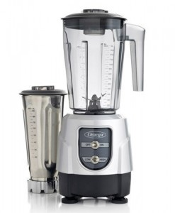 Omega-BL390S-1-HP-Blender-Tritan-Copolyester-and-Stainless-Steel-Container-Combo-Pack-Silver-0