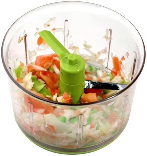 Chef\'n VeggiChop Vegetable Chopper, Arugula - Food Processors Store