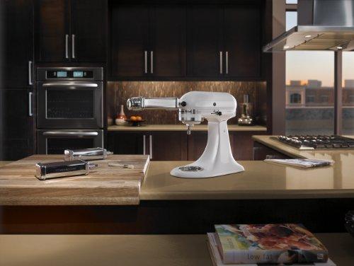 White Kitchenaid Mixer interesting kitchenaid stand mixer k45sswh classic series tilthead