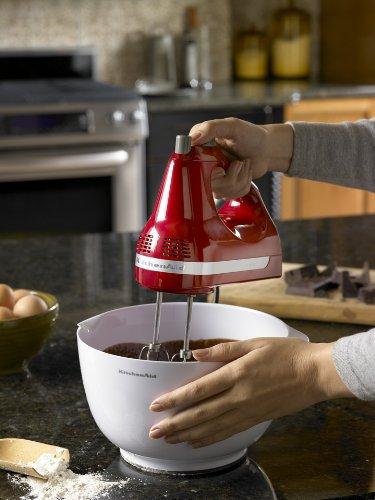 Kitchenaid Hand Mixer 5 Speed beautiful kitchenaid 5 speed ultra power hand mixer khm5aper w